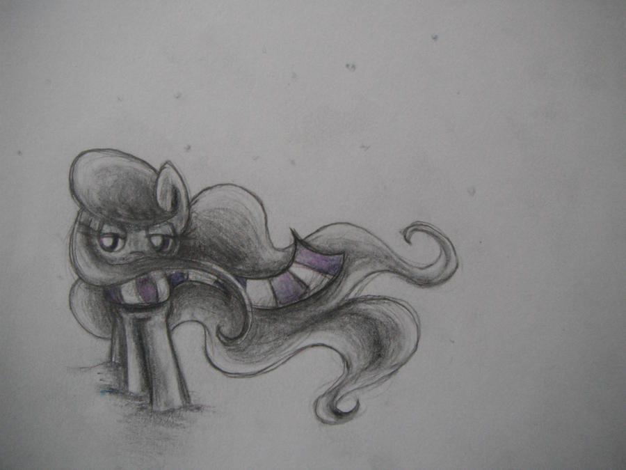 Octavia in the snow by dream-star-slash