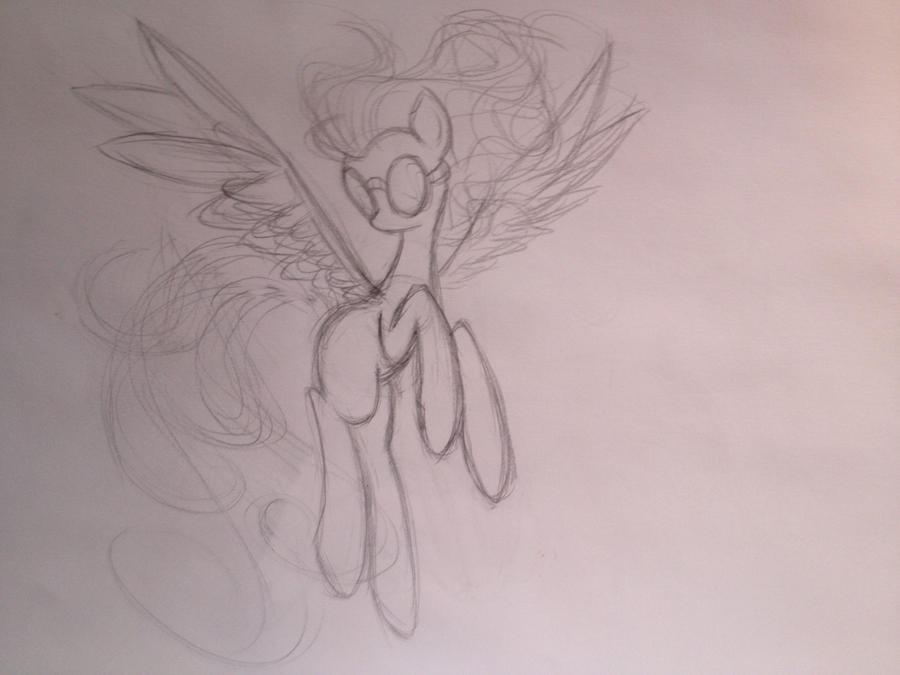 Spitfire sketch by dream-star-slash