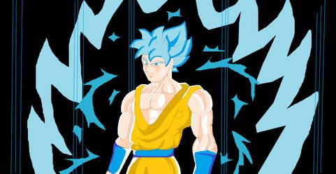 Goku Super Saiyan God 2