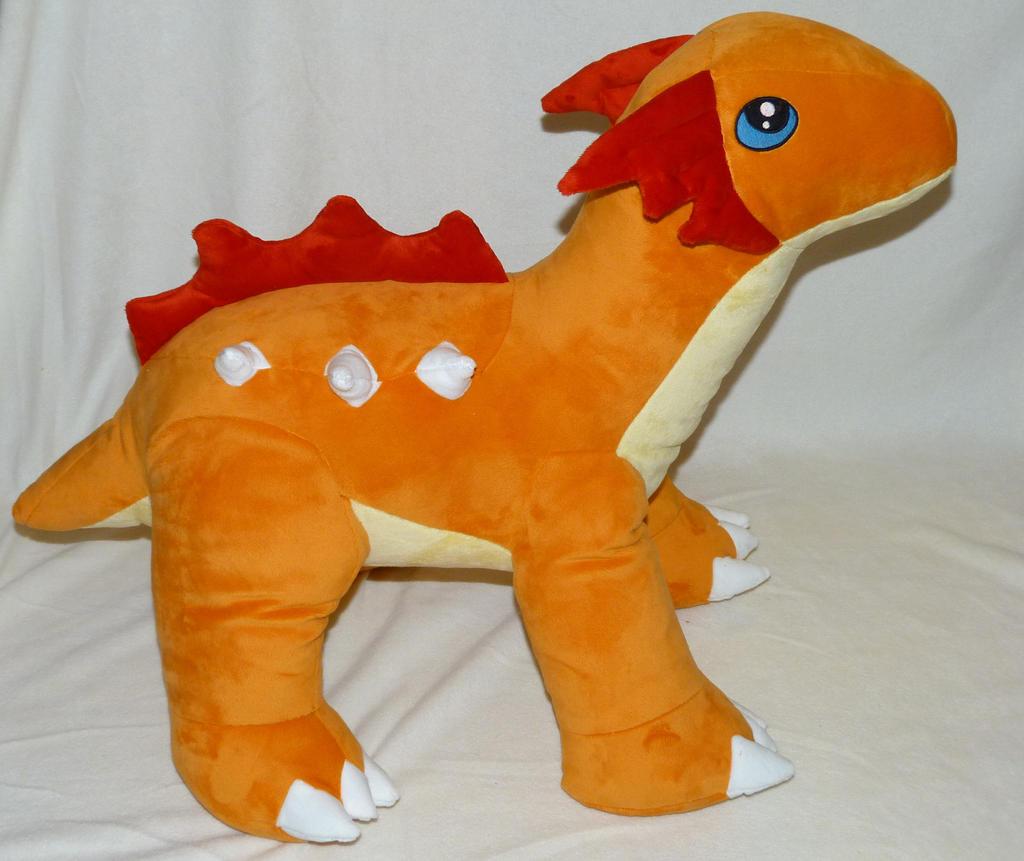 Dinosaur Plushie by Fenmar