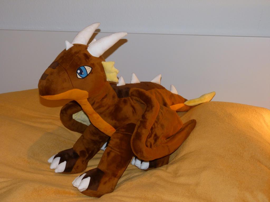 Dragon Plushie by Fenmar
