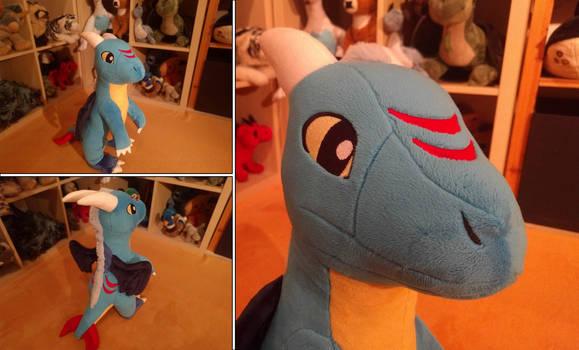 Wintersong: Handmade Dragon Plushie