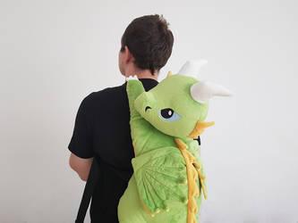 Dragon Plushie Bagpack