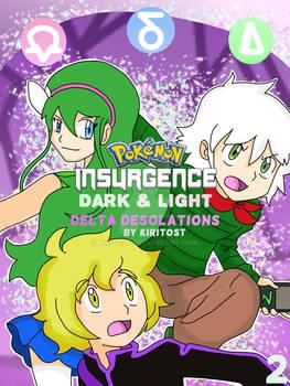 Pokemon Insurgence Dark and Light 2nd comic cover