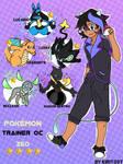 Commission: Pokemon Trainer Oc Zeo