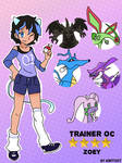 Commission: Pokemon Trainer Oc Zoey