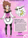 Pokemon Trainer Analysis card: Stylist Ayumi by Kiritost