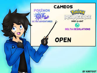 (CAMEOS) Ultra Adventures and Insurgence (OPEN)