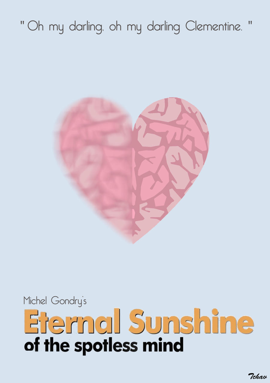 Eternal Sunshine Of The Spotless Mind Minimalist by Tchav ...