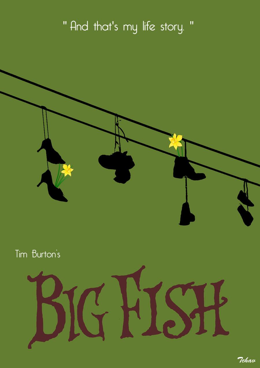 Big Fish Minimalist Poster By Tchav On DeviantArt