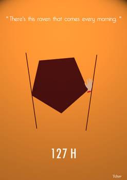 127 h Minimalist Poster