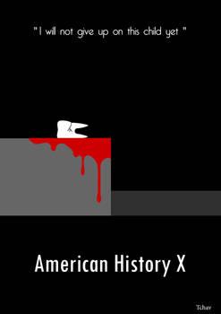 American History X Minimalist Poster