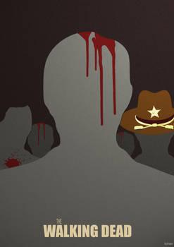 Walking Dead Minimalist Poster