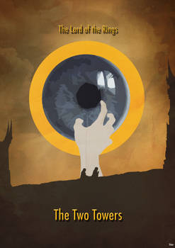 The Lord of the Rings 2 - Minimalist Poster