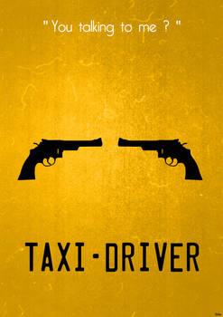 Taxi Driver (update) Minimalist Poster