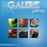Galerie d'Avatar. by Aspyck