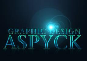Typographie : Aspyck - GRAPHIC DESIGN by Aspyck
