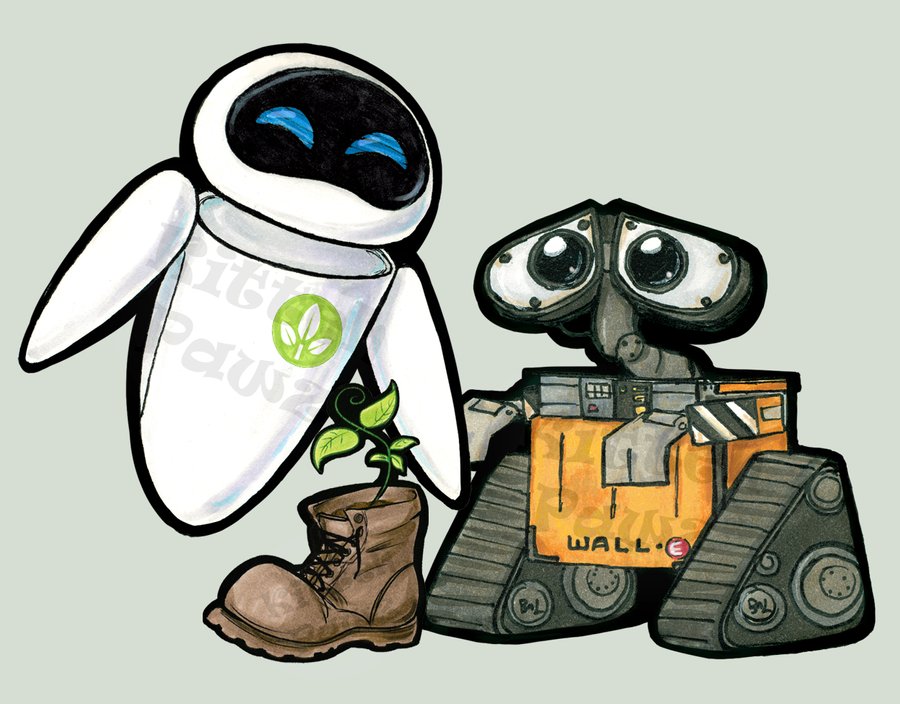 cute wall e and eve drawing wall decal good look wall e car decal disney car decal