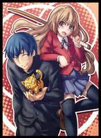 Toradora: Taiga + Ryuuji by ButtercupBabyPPG