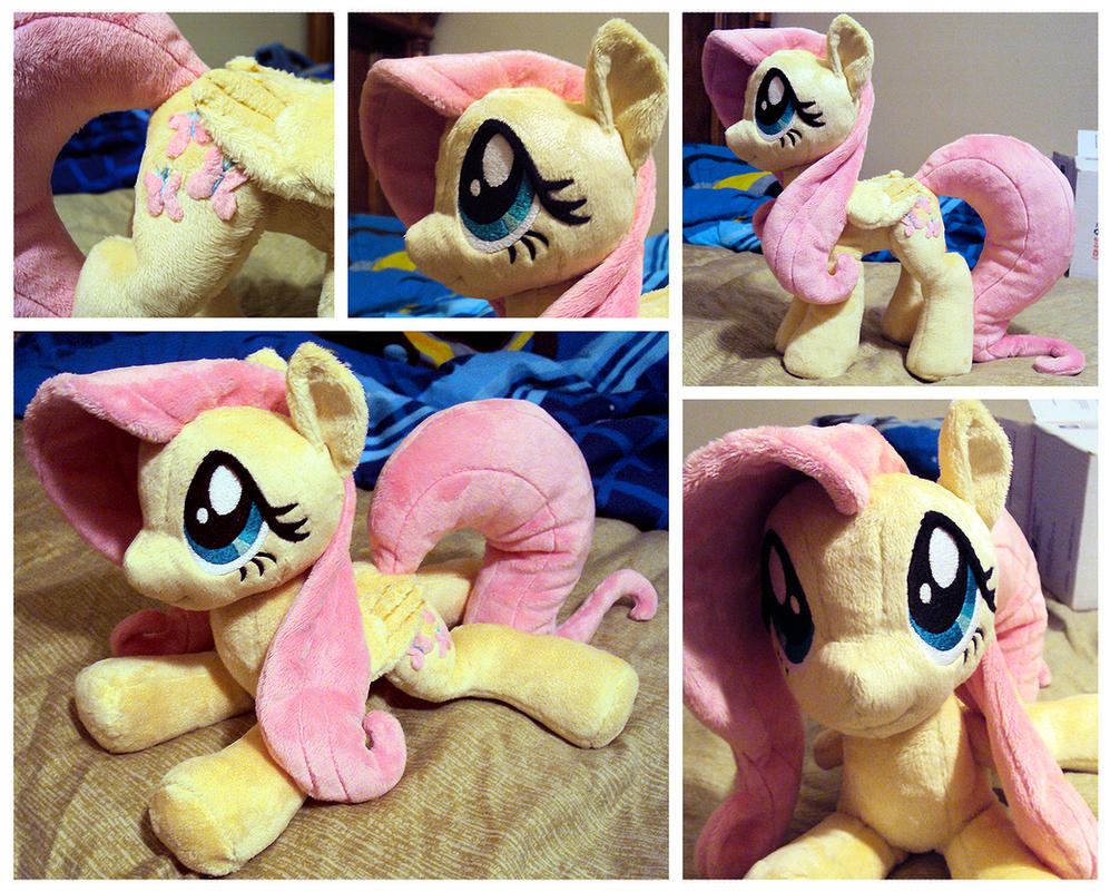 Fluttershy Plushie 3rd edition by ButtercupBabyPPG