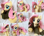 Fluttershy with Sweater and Socks