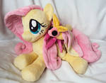 Fluttershy and Rosy Maple Moth
