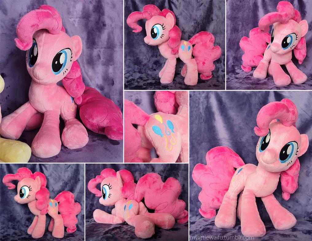 Pinkie Pie Plushie by ButtercupBabyPPG
