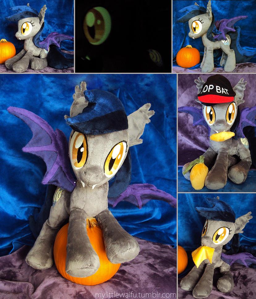 Nightmare Night Contest - Echo the bat pony by ButtercupBabyPPG