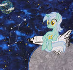 Lyra Quilt Square
