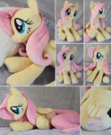Giant Fluttershy Plushie - more images