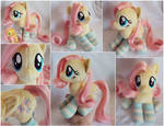 Fluttershy Beanie with Brushable Hair