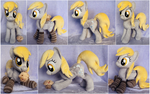 Derpy Plushie with socks and muffin