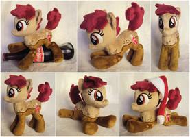 Coke Pony Beanie by ButtercupBabyPPG