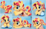 Sunset Shimmer Beanie - Pattern FOR SALE!