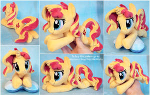 Sunset Shimmer Beanie - Pattern FOR SALE! by ButtercupBabyPPG