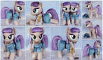 Maud Plushies with Boulder and scarf