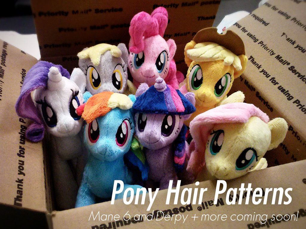 Ponyhairpatterns by ButtercupBabyPPG