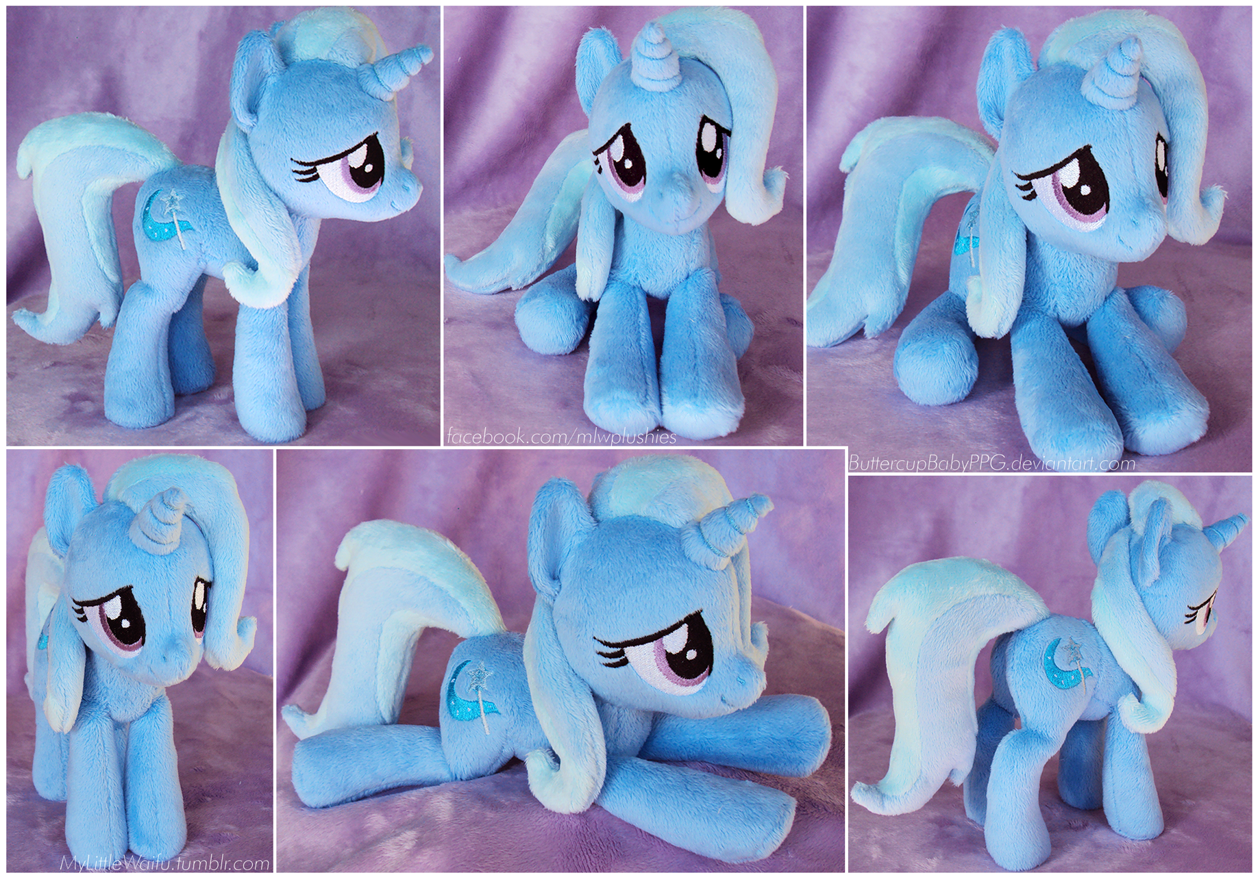 The Great and Apologetic Trixie Beanie Plush