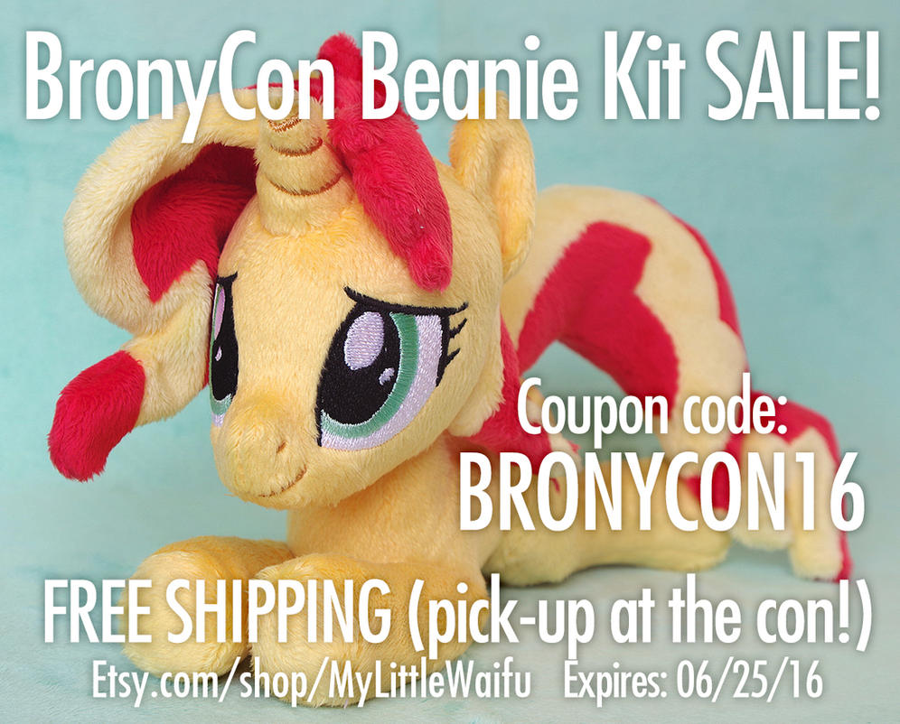 Bronycon Beanie Kit SALE! by ButtercupBabyPPG