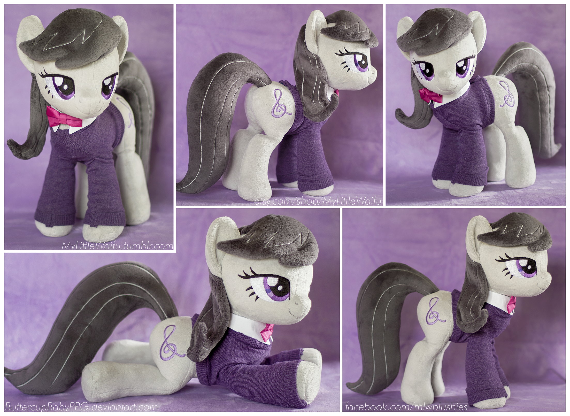 Octavia Plushie with Sweater