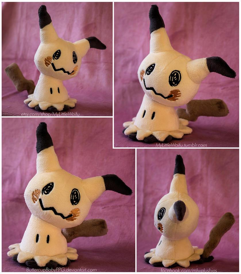 Pokemon Mimikyu Plush - Sewing Pattern for Sale by ButtercupBabyPPG ...