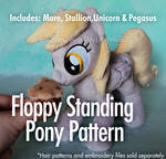 Floppy Standing Pony Pattern