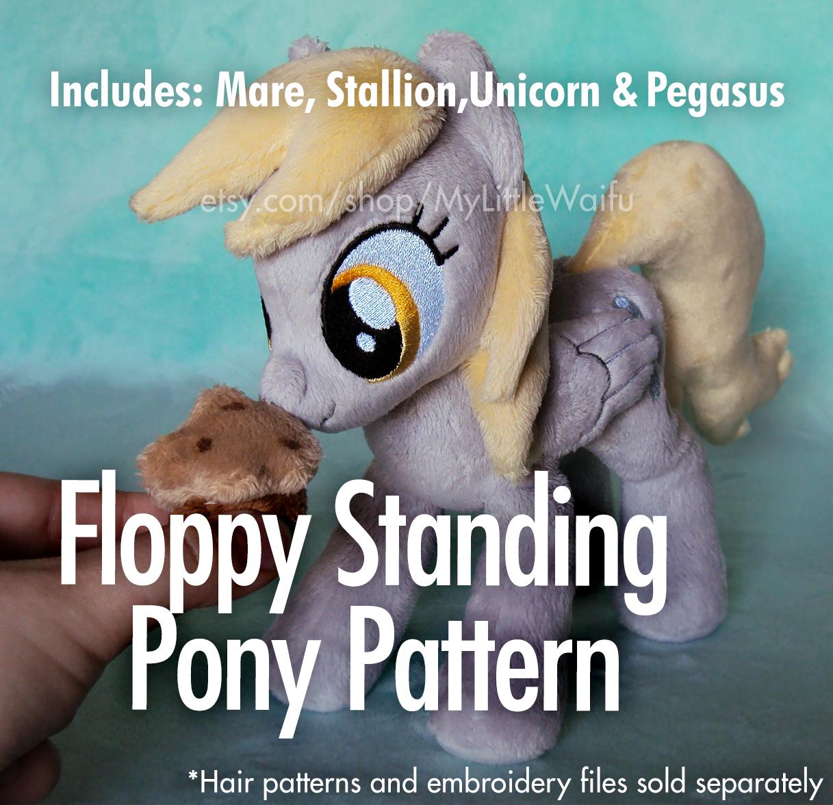 Floppy Standing Pony Pattern by ButtercupBabyPPG