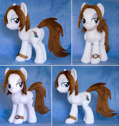 Bee OC Pony Plushie by ButtercupBabyPPG