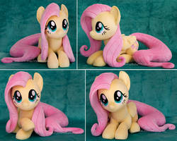 <b>Laying Fluttershy Plush</b><br><i>ButtercupBabyPPG</i>