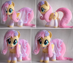 18in Fluttershy Plushie with Bridal Nighty