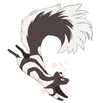 did you guys know about spotted skunks