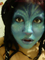 Avatar inspired Makeup by MalevolentJester