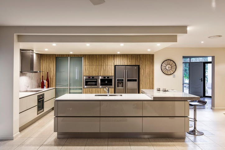 Original Fengshui For Kitchen Harmonizes Modern Interior Design With Comfortable Ergonomic Layout And Relaxing Feng Shui Colors Feng Shui For Kitchen Became