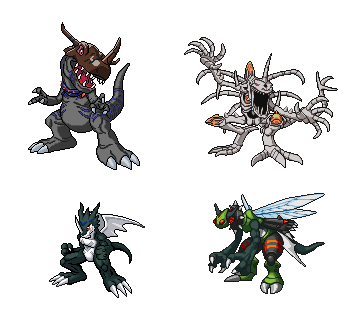 Skullgreymon Evolution Chart Pictures to Pin on Pinterest ... Gaomon Evolution Chart